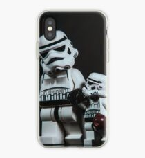 A Stormtrooper Father Son Moment iPhone Case