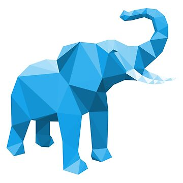 Elephant goes lowpoly by cynoba