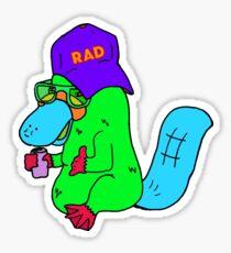 Green Radipus Sticker