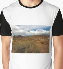Painted Hills Landscape in Central Oregon Graphic T-Shirt