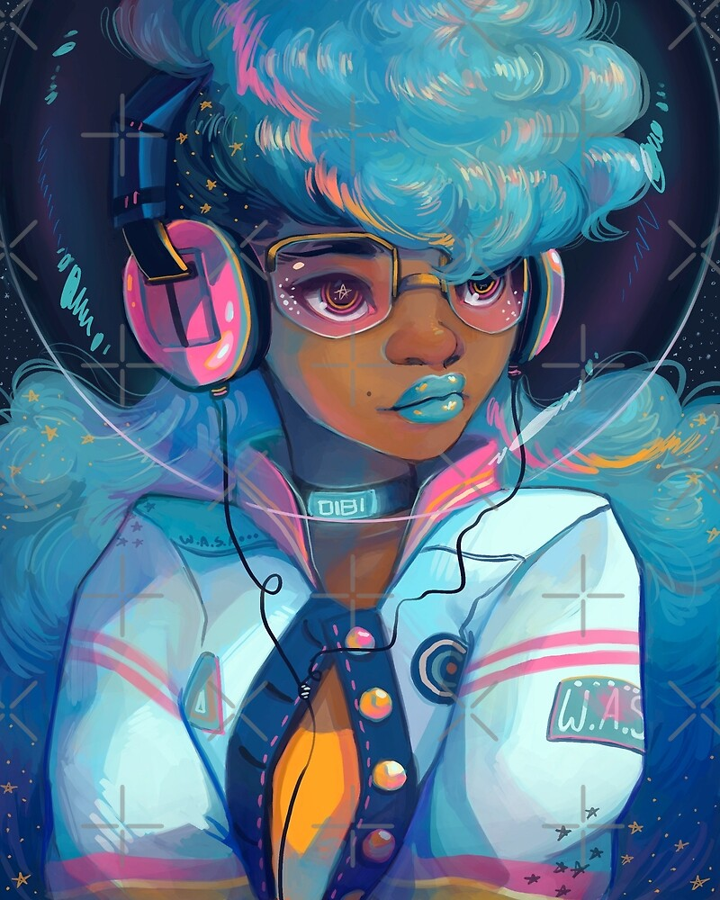 Space Letterman by GDBee