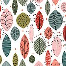 Nature Inspired Leaves Three by elenor27