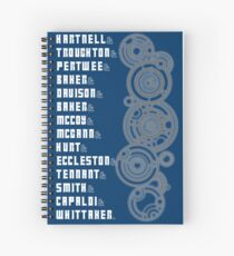The Doctors - White Text Spiral Notebook