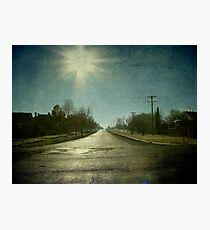 Morning Town, Maitland Street, Uralla, New South Wales Photographic Print