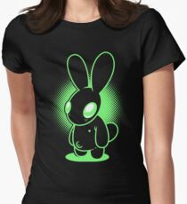 Night Bunny Women's Fitted T-Shirt