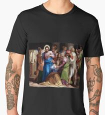 The Conversion Of Mary Magdalene Men's Premium T-Shirt