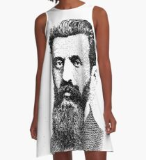Theodor Herzl A-Line Dress