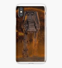 AT-AT Sunset iPhone Case/Skin