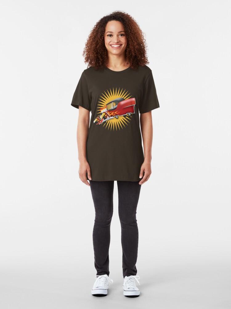 Alternate view of Moon Rod Slim Fit T-Shirt