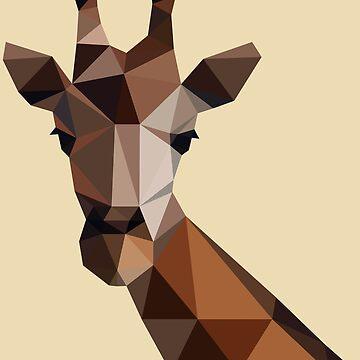 Giraffe goes lowpoly by cynoba