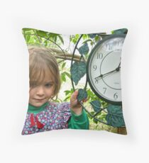 Time Doesn't Wait Throw Pillow