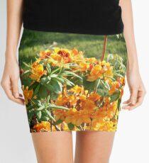 Orange Azalea Mini Skirt