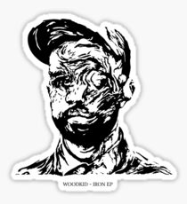 Woodkid Iron EP Stencil Sticker