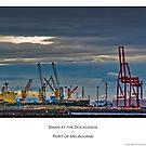Dawn at the Docks by FuriousEnnui