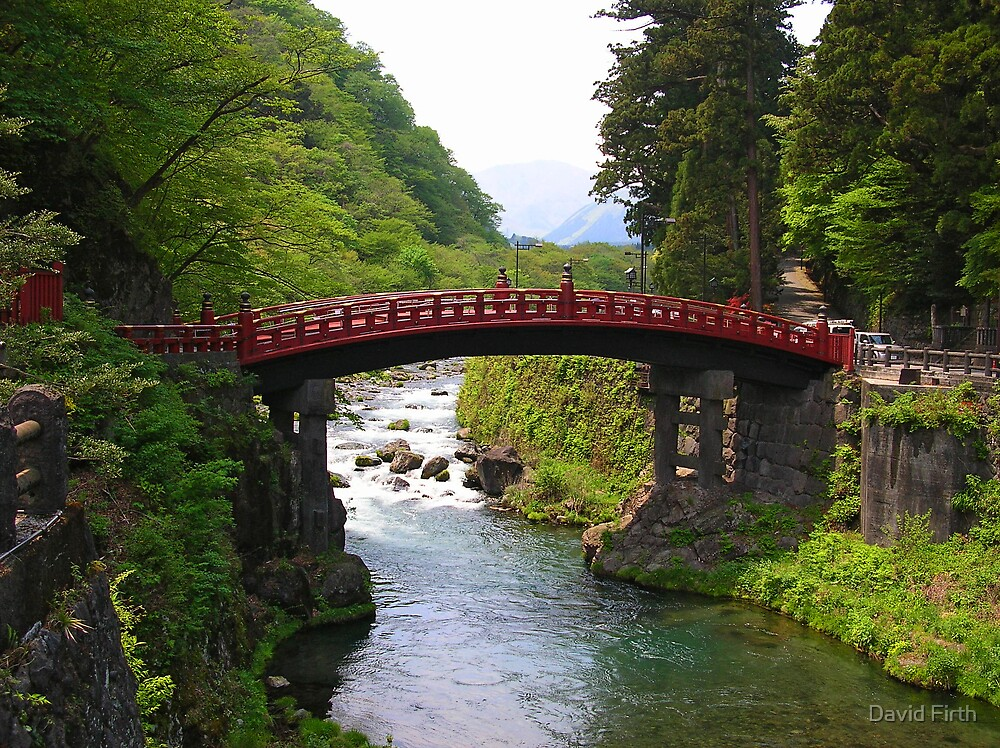 Bridge at Nikko by David Firth