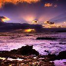 Blowhole Sunset by Steve Chapple