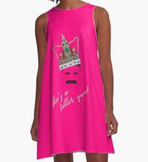 She's a Killer Queen! A-Line Dress