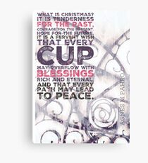 What is Christmas v1 Canvas Print