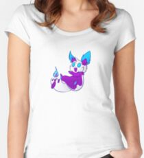 Kindling the Candle Fox Fitted Scoop T-Shirt