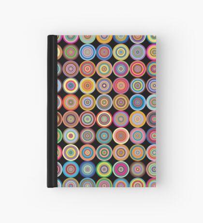 Retro Circles Hardcover Journal
