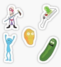 Rick & Morty Iconic Characters Pack Sticker