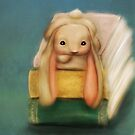 Baby Bunny on books by Monica Michelle