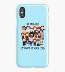 Patriarchy, SMASH iPhone Case/Skin