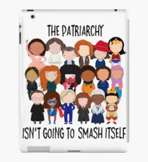 Patriarchy, SMASH iPad Case/Skin