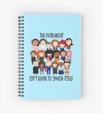 Patriarchy, SMASH Spiral Notebook