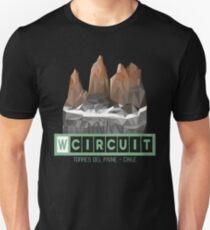 W Circuit - Torres del Paine National Park Patagonia Chile Unisex T-Shirt