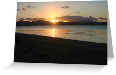Sunset over Dunk Island  by kxrya1