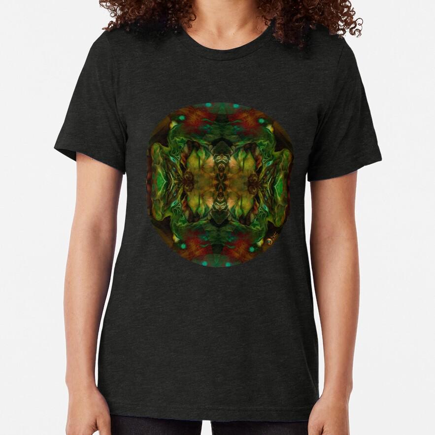 El cuarto de la oruga Camiseta de tejido mixto