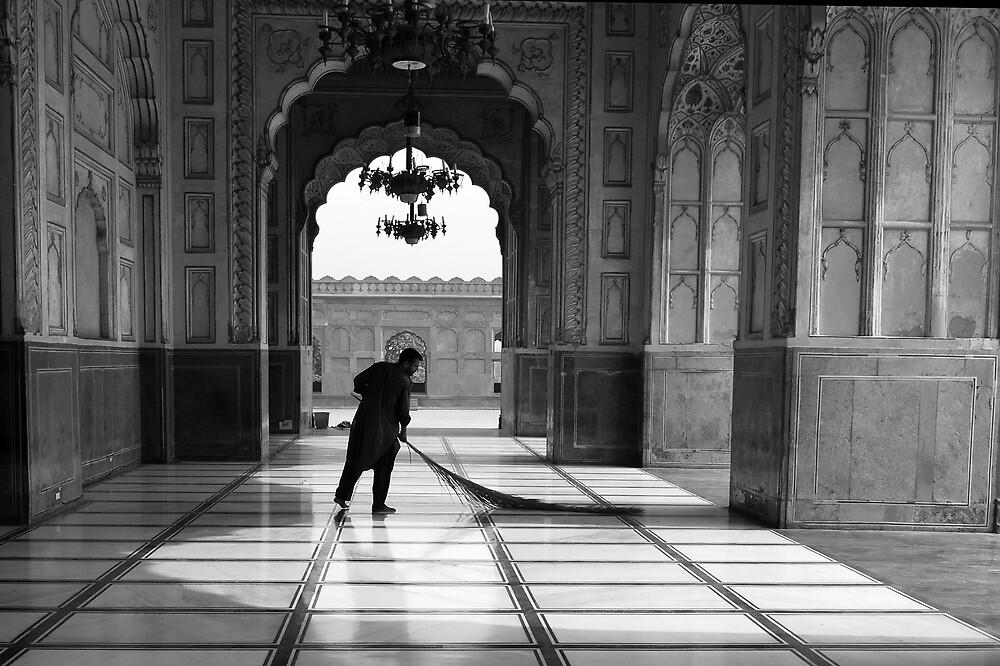Sweeping Away by Emoto