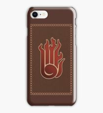 Fire Tome iPhone Case/Skin