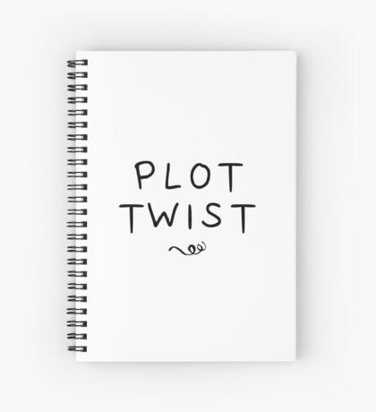 Plot Twist Spiral Notebook