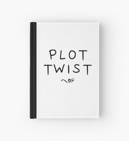 Plot Twist Hardcover Journal