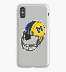 Michigan Football Helmet iPhone Case