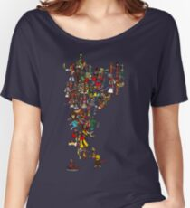 Renaissance Map of India Women's Relaxed Fit T-Shirt