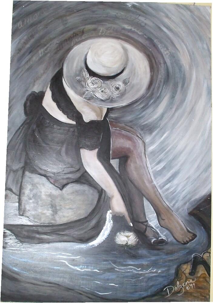 SWIRLING IN LOVE by Dalzenia Sams
