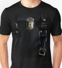 Leather and Zippers Unisex T-Shirt