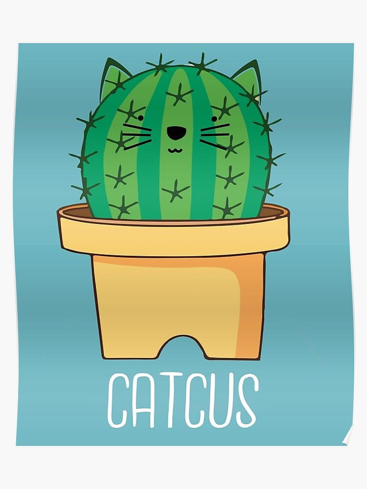 f5a4ed69 CATCUS – Funny Cat Shirt Cactus Pun