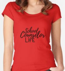 School Counselor Life Women's Fitted Scoop T-Shirt