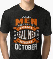 Las Leyendas Nacen en Octubre Camiseta de Cumpleaños Hombres