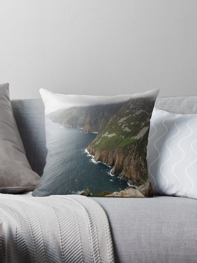 Donegal Cliffs by John Quinn