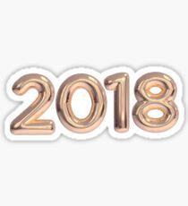 2018 happy new year Sticker