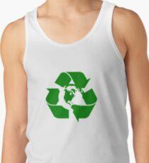 Earth Day Recycle Wiederverwendung Reduziert das Design Tanktop für Männer