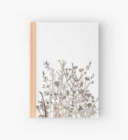 Wildflowers Hardcover Journal