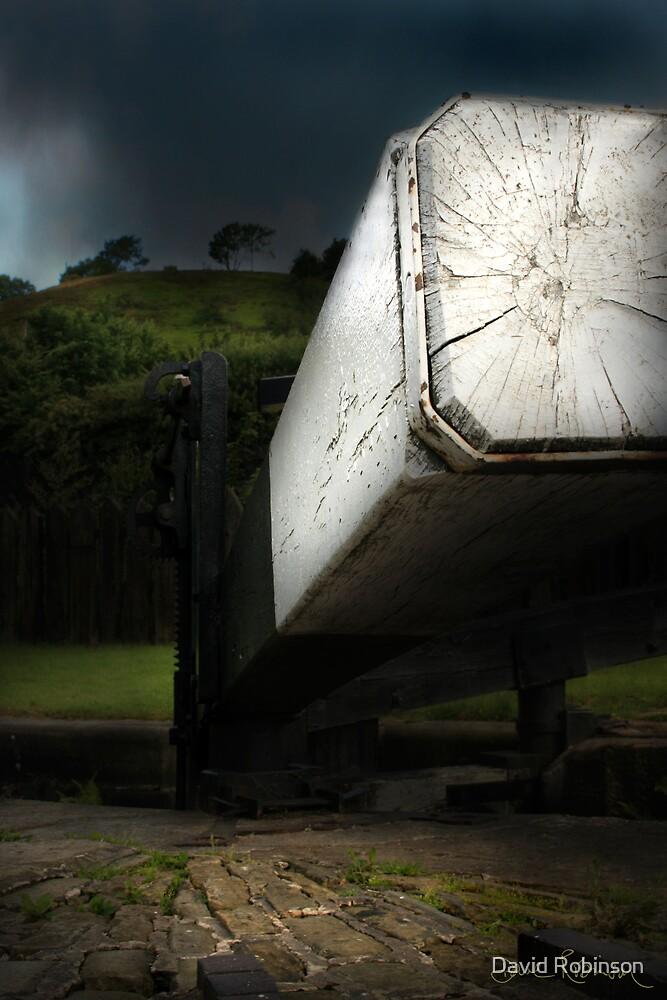 Marsden lock by David Robinson