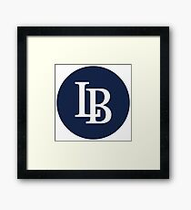 LB (Yankees) Framed Print