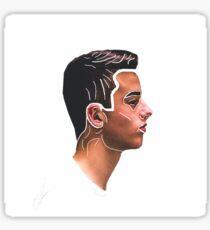 Side Shot Album Cover Artwork (white) Sticker